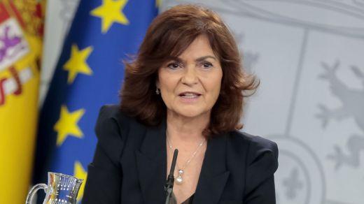 Dirigentes del PSOE prefieren a Calvo antes que Borrell para las europeas