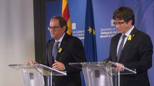 Una mesa de diálogo, condición sine qua non para que Junts per Catalunya apoye los Presupuestos Generales