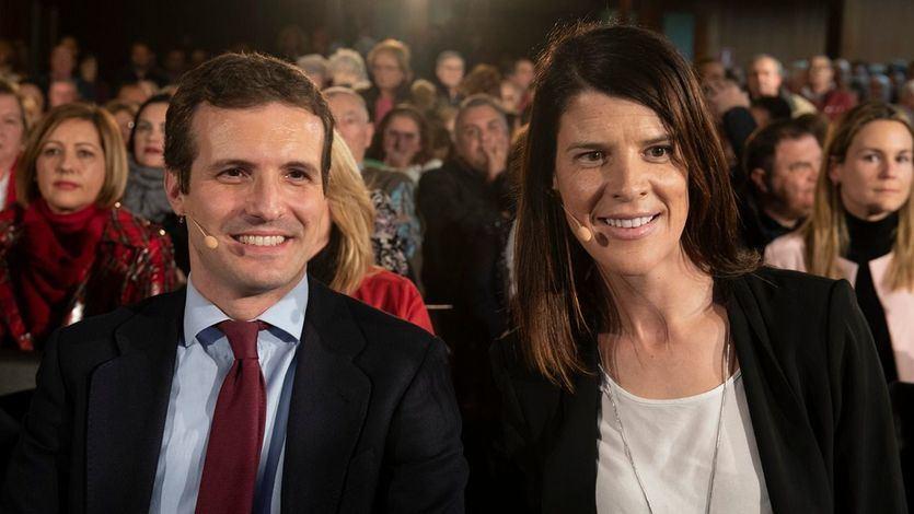 Ruth Beitia y Pablo Casado