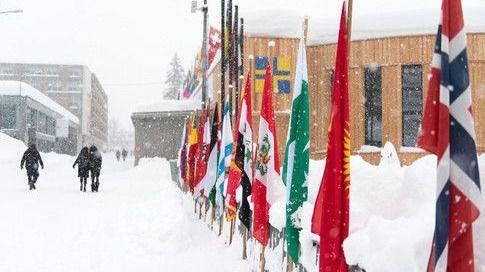 El Brexit, presente en Davos