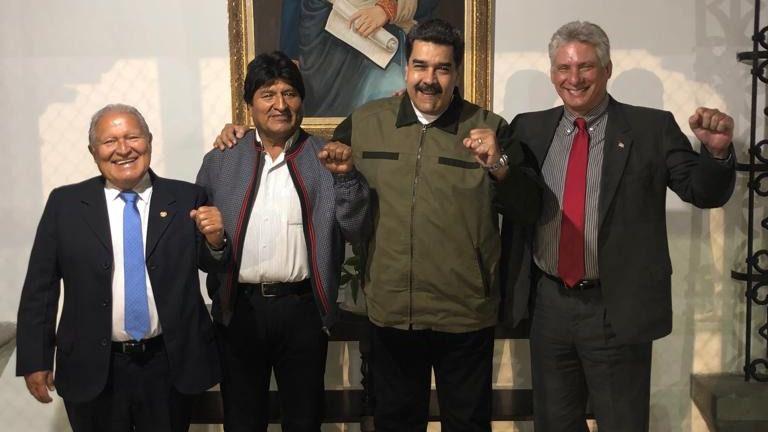 La mayoría de los gobiernos de América, la OEA y la UE apoyan a Guaidó