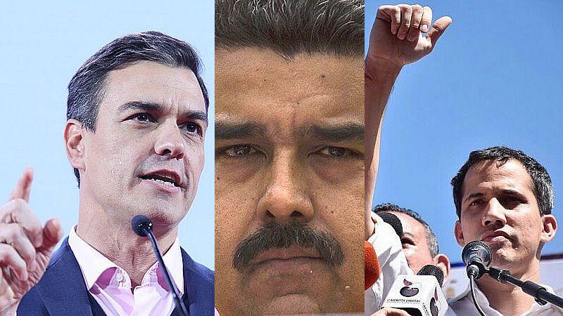 Sánchez rompe su silencio pidiendo elecciones con garantías en Venezuela pero sin reconocer a Guaidó