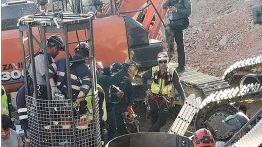 Última hora del rescate de Julen: los mineros ya han excavado 3 metros de túnel