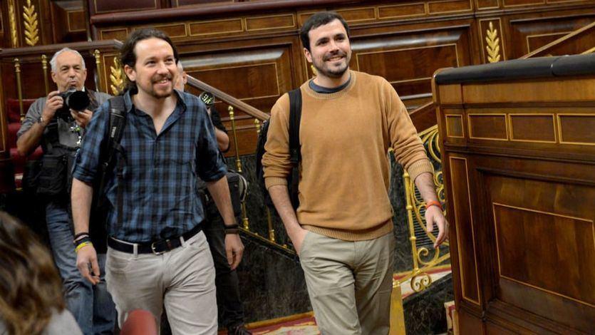 La incógnita en torno a la confluencia de Podemos e IU en Madrid