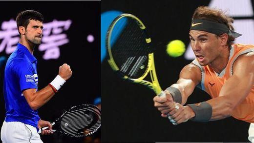 Djokovic bate a Nadal en la final del Open de Australia
