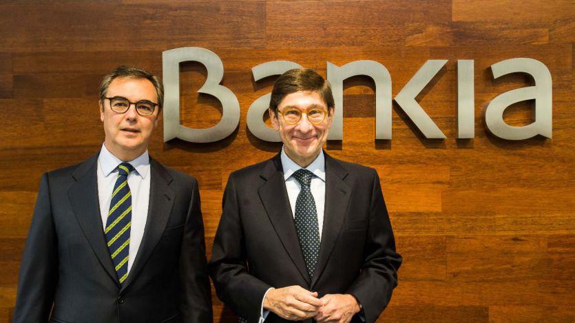 Bankia ganó 703 millones de euros en 2018, un 39% más