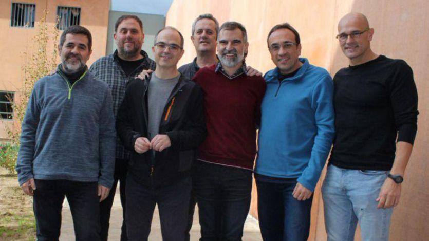 Los presos independentistas, en Madrid para comenzar el juicio del procés