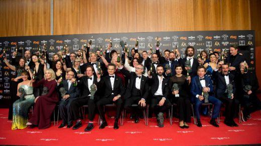 'El reino' arrasa en los Premios Goya pero 'Campeones' se alza como la mejor película