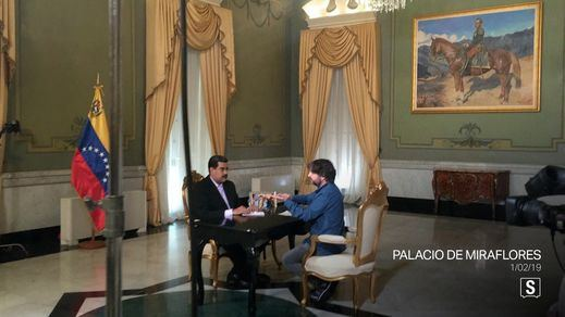 Máxima expectación por la entrevista de Jordi Évole a Nicolás Maduro