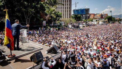 Venezuela, dividida en las manifestaciones convocadas por Maduro y Guaidó