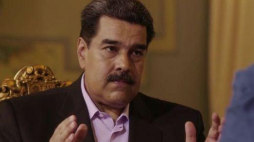 Entrevista a Maduro: abronca al