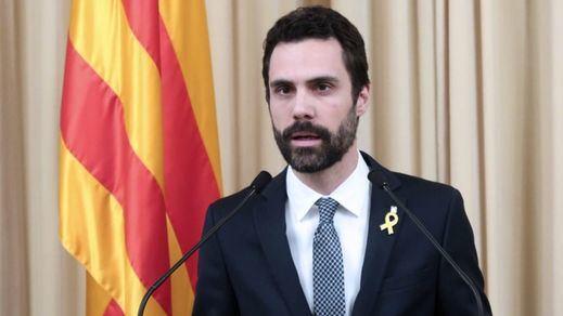 Torrent visita a los políticos catalanes presos antes del inicio del juicio del procés