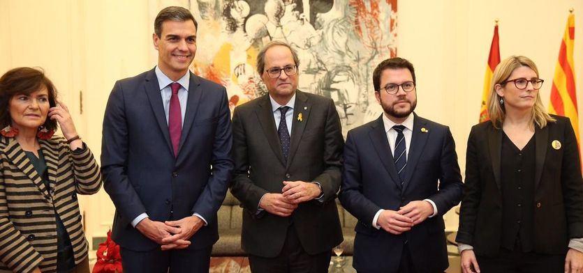 Moncloa acepta la propuesta de la Generalitat: incorporar un 'relator' a la mesa de diálogo