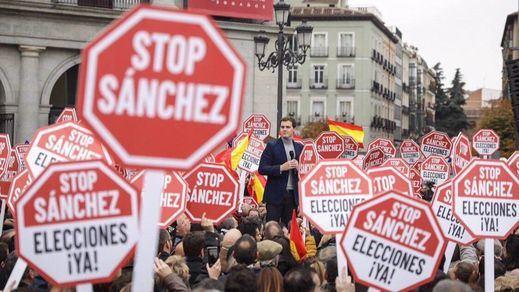 Reacciones a la manifestación contra Sánchez