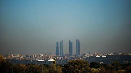 La contaminación en Madrid en enero en las cotas de contaminación desde 2015
