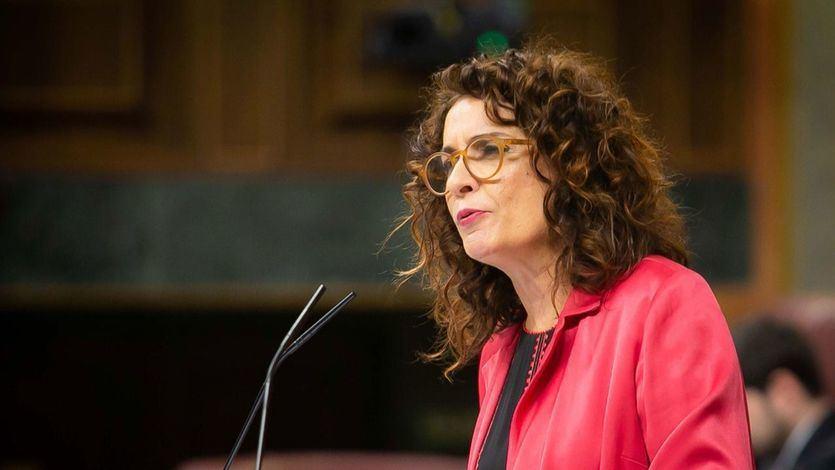 Intervención en el Congreso de la ministra de Hacienda, María Jesús Montero
