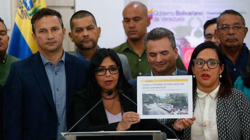 El chavismo rechaza ahora la ayuda humanitaria porque contiene 'comida cancerígena'