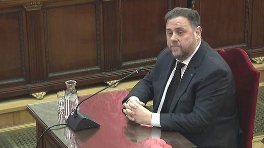 Juicio del procés: Junqueras sólo responde a su abogado y niega que hubiera violencia o cualquier delito