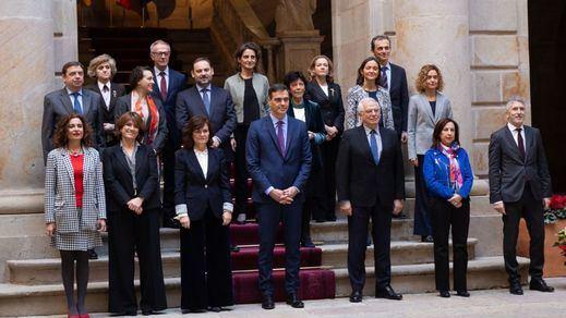 Los mensajes de despedida de los ministros del Gobierno Sánchez
