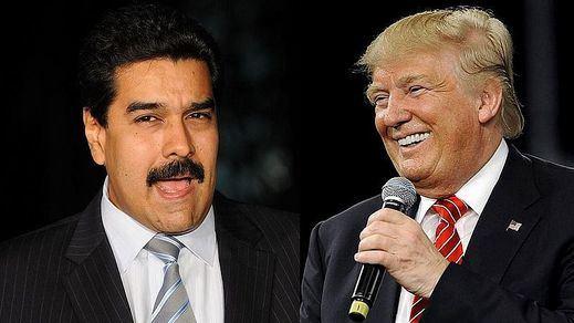 Trump pide al Ejército venezolano que se rebele contra Maduro y le ofrece amnistía total