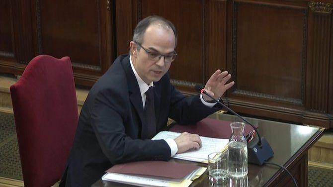 Turull: 'Hasta el último momento se buscó un referéndum pactado'