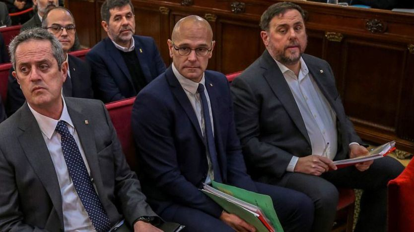 Romeva se declara 'preso político' y confiesa que 'se volvió' independentista en 2010