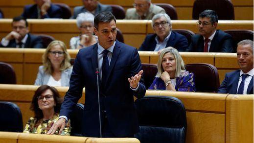Los tensos rifirrafes de Sánchez con los portavoces de ERC y el PP en el Senado