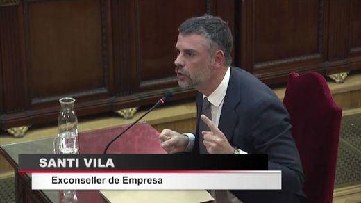 Santi Vila explica en el juicio del procés por qué abandonó el Govern