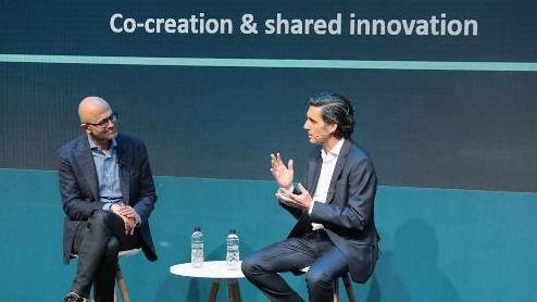 Telefónica y Microsoft establecen una alianza estratégica para diseñar la TELCO del futuro