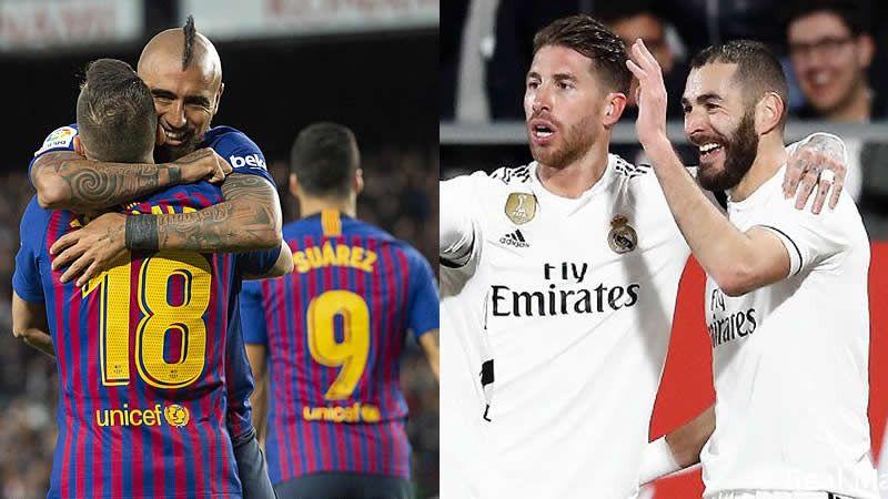 Horario y dónde ver los duelos de vuelta de semifinales de la Copa del Rey: Real Madrid-Barça y Valencia-Betis