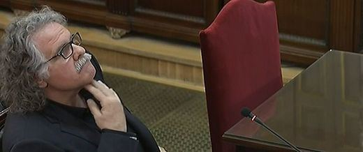 Tardá declara como testigo buscando la polémica por el uso del catalán en el juicio