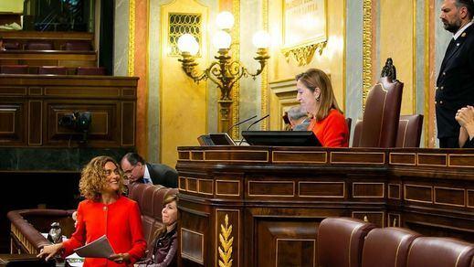 Ana Pastor se emociona al despedir la legislatura en el Congreso