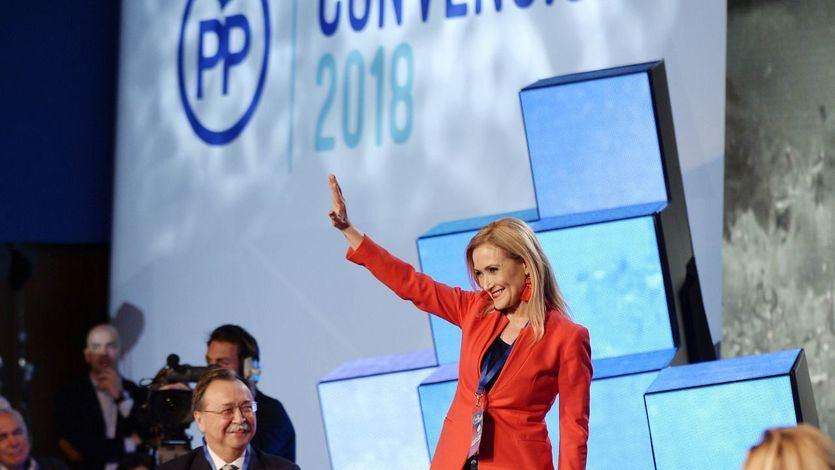 El adiós 'temporal' de Cifuentes al PP: 'El tiempo me dará la razón'