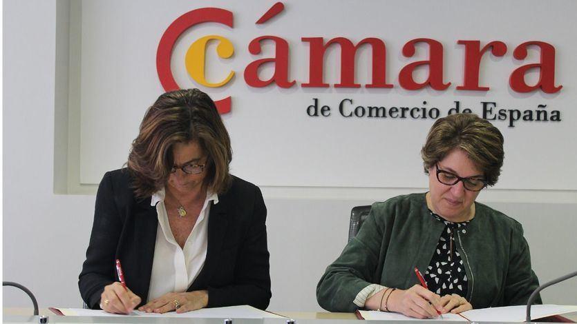 Fundación Telefónica y la Cámara de Comercio de España unen sus fuerzas para impulsar el empleo digital