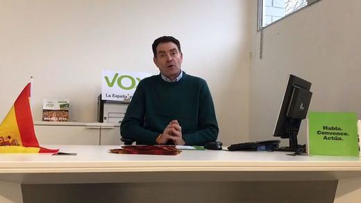El líder de Vox en Lleida, detenido por supuestos delitos contra la libertad sexual