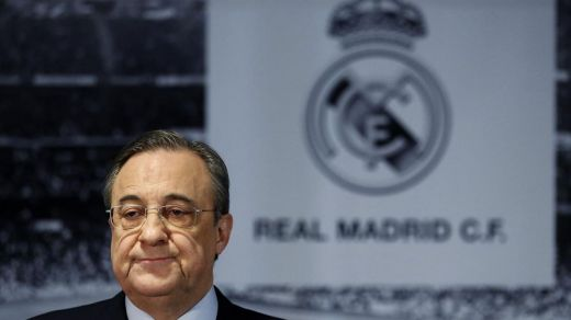 'Florentino dimisión', un clamor entre gran parte de la afición del Real Madrid