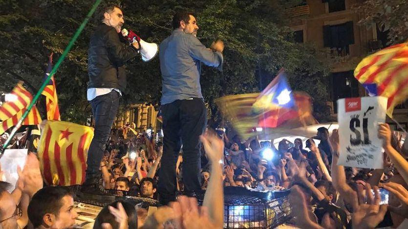 El 'tumulto' o cómo probar que hubo delito de sedición en la jornada del 20 de septiembre de 2017