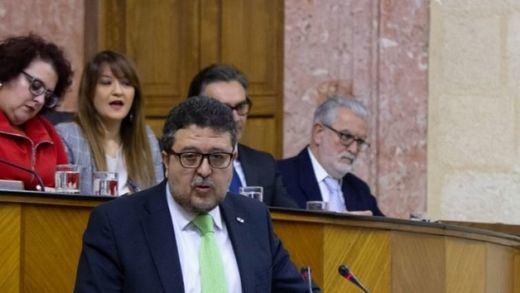 Primera pelea de Vox con PP y Ciudadanos: abandona el Parlamento andaluz tras