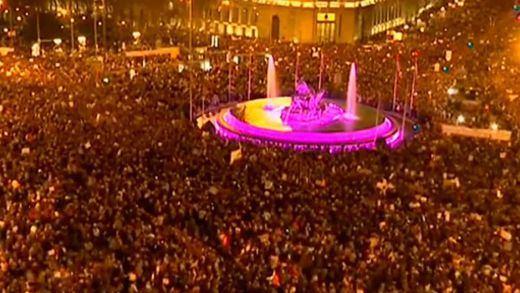 El 8-M duplica la movilización del año anterior y desborda las manifestaciones