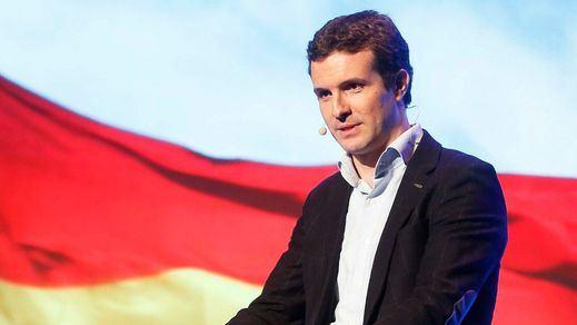 Casado acusa de cobardía a Sánchez por no aceptar un debate cara a cara electoral