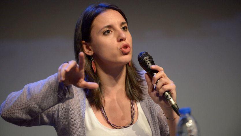 Irene Montero sigue insinuando que Iglesias dará paso a una mujer al frente de Podemos