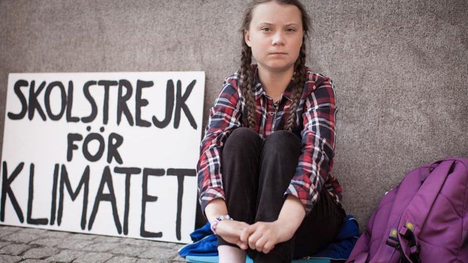 Miles de jóvenes marchan contra el cambio climático