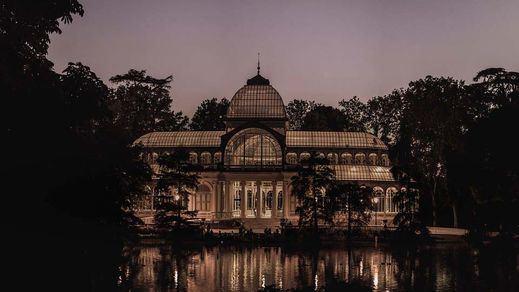 palacio de cristal en el retiro Madrid