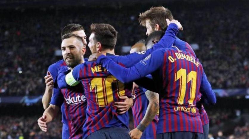 El Barça pasa de sustos y arrolla al Lyon (5-1)