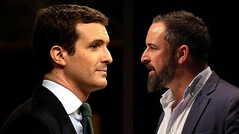 El PP clama contra Vox por 'robarle' escaños y favorecer al PSOE y pide reflexionar a los votantes de derecha
