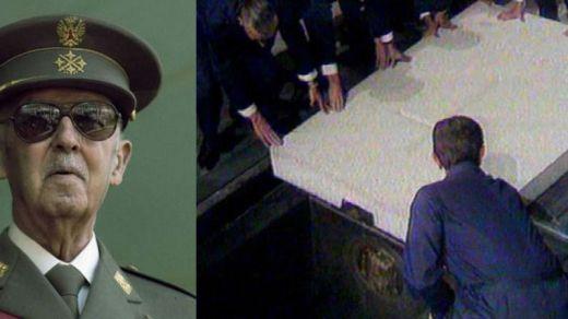 Moncloa anuncia que exhumará los restos de Franco y los enterrará en El Pardo el 10 de junio