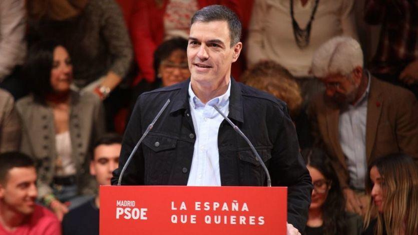 Sánchez: 'La España que queremos tiene muchas plazas, no solo la plaza de Colón'