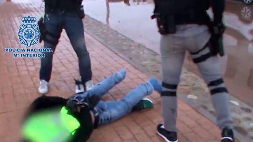 La Policía Nacional detiene a un grupo de falsos agentes de la Guardia Civil
