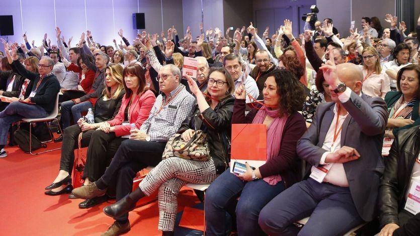 Susana Díaz no vota en el Comité Federal del PSOE