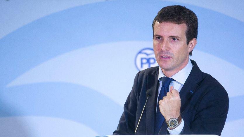 Casado plantea el 28-A como un referéndum: 'O Sánchez con Torra y Podemos, o el PP'